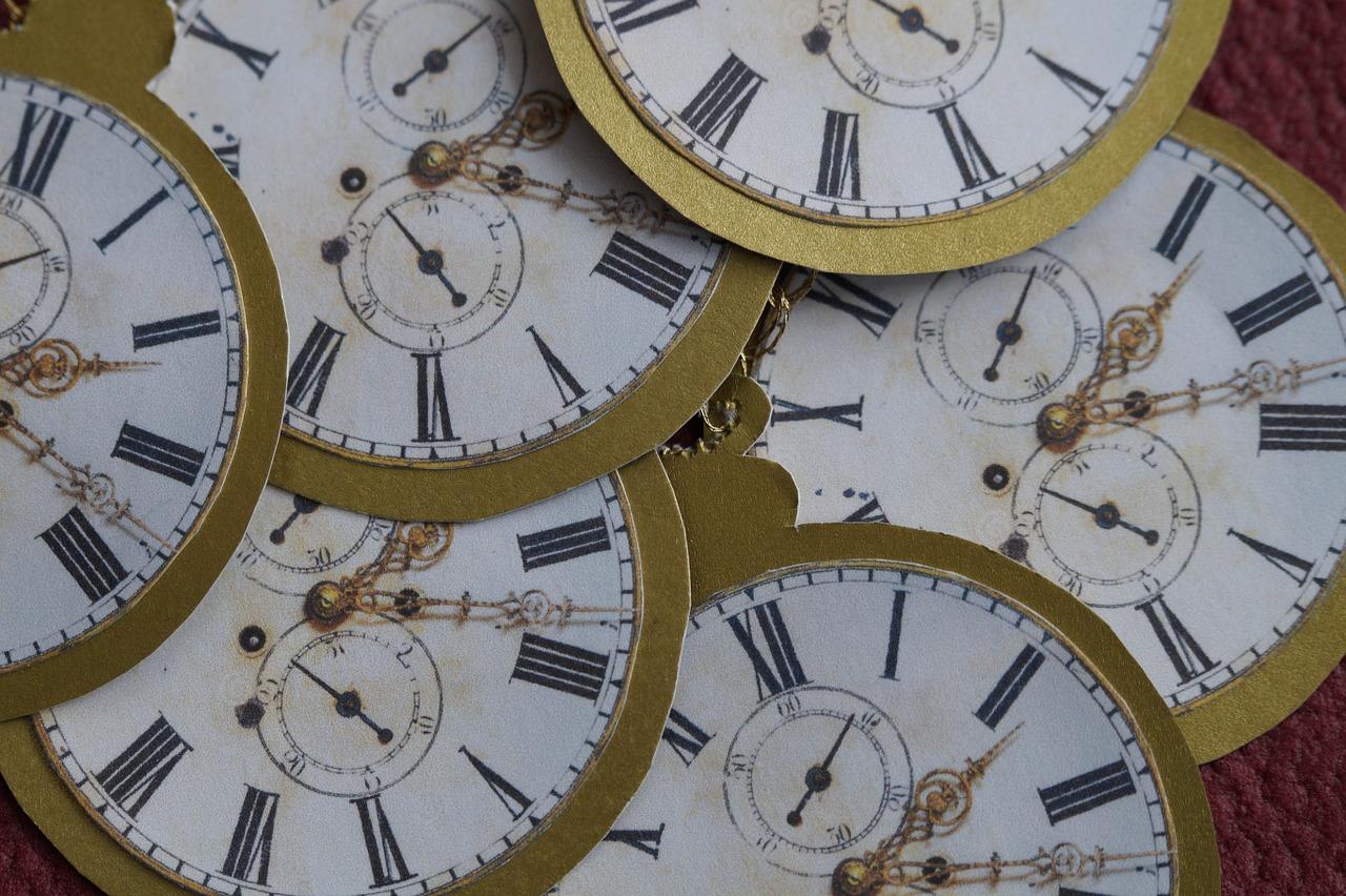 Kognitiv terapi Århus, samling af ure viser